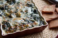 Mommy's Kitchen - Old Fashioned & Southern Style Cooking: Cheesy Spinach & Artichoke Dip