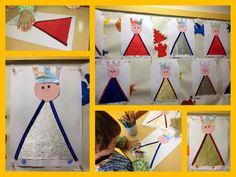 Epiphany, Christmas Crafts, Calendar, Holiday Decor, Frame, Castles, Autumn, Crafts, Activities