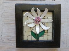 No Frills Daisy!  By Nikki Murray-Mason, Nikki Inc Mosaics