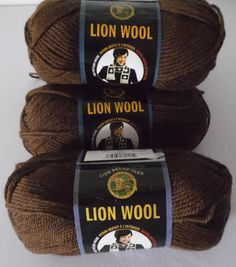 Items similar to Lion Brand Lion Wool Wool Yarn in skein lot on Etsy Cheap Yarn, Lion Brand, Wool Yarn, Cocoa, Trending Outfits, Unique Jewelry, Handmade Gifts, Vintage, Etsy