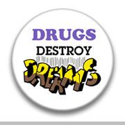 Drugs Destroy Dreams by mysticdragonss on Etsy, $1.50