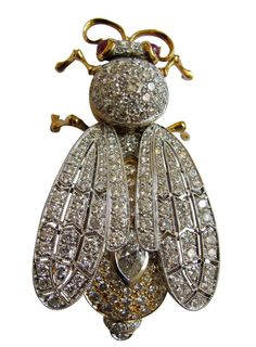 $40,000 Insect Brooch