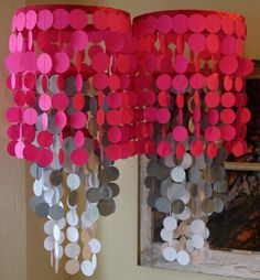 Diy paper chandelier or mobile beautiful for weddings nurseries beautiful for weddings nurseries or party decorations diy idea pinterest paper chandelier diy paper and chandeliers mozeypictures Image collections