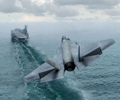 Perspective jet coming in for landing on a aircraft carrier...nice photo...@ tonygqusa i follow back.