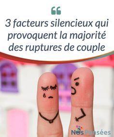 3 facteurs silencieux qui provoquent la majorité des ruptures de couple Les #ruptures #amoureuses sont normalement très difficiles à surmonter, voire #traumatisantes pour celleux qui en souffrent. En fait, le couple est l'un des thèmes qui se trouve en haut de la liste des préoccupations d'un bon nombre de personnes dans le monde. #Psychologie