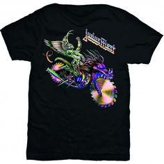 Tricou Judas Priest: Painkiller Solo - www. Judas Priest, Metalhead, Tees, Mens Tops, T Shirt, Fashion, Supreme T Shirt, Moda, T Shirts