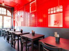 Chinabar an der Wien in der Hamburgerstrasse 2 in 1050 Wien Lokal, China, Bar, Conference Room, Table, Furniture, Vienna, Restaurants, Home Decor