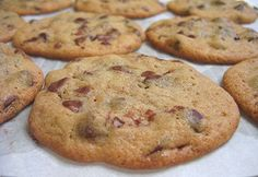 Honest Chocolate Chip Cookies from Alpineberry: This recipe hasn't let me down yet. It's a classic.