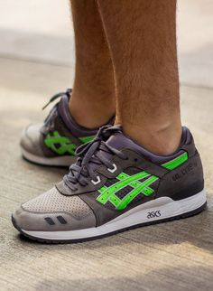 Sweetsoles – Ronnie Fieg x Asics Gel Lyte III 'Super Green' (by...