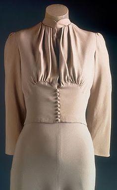 Wallis-Windsor wedding gown, 1937. Mainbocher
