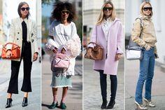 bolsos loewe Fashion Bags, Jackets, Pockets, Trends, Women, Down Jackets, Fashion Handbags, Jacket