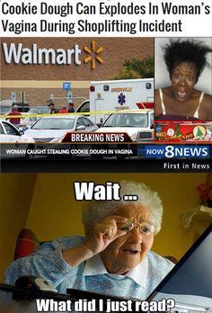 I shouldn't laugh but !!!