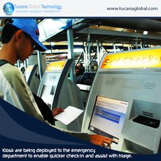 #Kiosks are being #deployed to the #emergency #department to enable #quicker check-in and #assist with #triage. #‎TucanaGlobalTechnology‬ ‪#‎Manufacturer‬ #HongKong