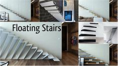 Floating Stairs Decoration and Functionality in the Interior - Architecture Admirers Stair Decor, Floating Stairs, Interior Architecture, Decoration, Twitter, Design, Home Decor, Home, Architecture Interior Design