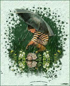Rain Falling - Gifs
