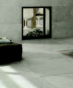 Concrete Look Tiles Tile Bathroom Polished Floors