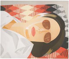 Alex Katz, Pop Art Movement, Indian Blankets, New York Art, First Art, Arte Pop, Museum Of Fine Arts, Figure Painting, American Artists