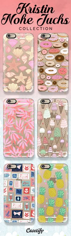 Shop these pretty designs by @knohe at https://www.casetify.com/kristinnohe/collection | @casetify