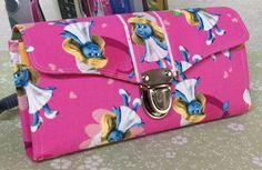 Smurfette necessary clutch wallet