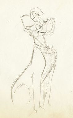 Walt Disney's Lady & The Tramp || CHARACTER DESIGN REFERENCES |