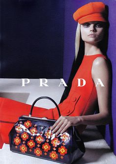 Magdalena Frackowiak, photographed by Steven Meisel for Prada - Fall 2012
