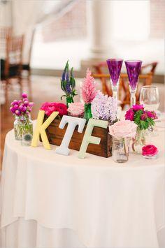 sweetheart table decor ideas