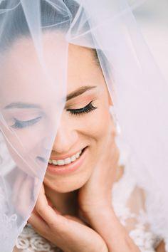 Elegantes Peach & Cream Bridal Styled Shoot mit Carito Photography