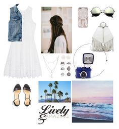 """""""Beach Day"""" by natalianunez-1 ❤ liked on Polyvore featuring SLY 010, Charlotte Russe, J.Crew, H&M, Topshop and Rebecca Minkoff"""