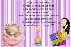 Pequenos Grandes Pensantes.: Aniversário do Pequenos Grandes Pensantes!!!