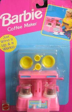 Barbie Coffee Maker