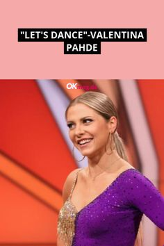 """Valentina Pahde erhielt vor dem """"Let's Dance""""-Finale ein ganz besonderes Geschenk von einem ehemaligen RTL-Bachelor ... #valentinapahde #letsdance #deutschestars #starnews #news #boulevard #okmag Let's Dance, Boulevard, Stars News, People, Let It Be, Beautiful Actresses, Dance, Gift, Folk"""