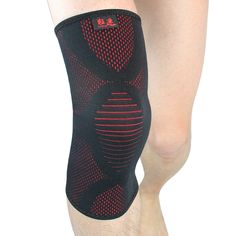 babb498ece Kuangmi Knee Pad Basketball Breathable Warm Knee Compression Sleeve Support  Sports High Elastic Knee Sock Running