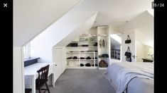 Built in bedroom storage neutral colours