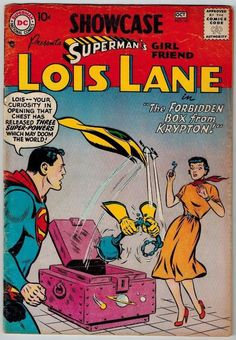 Showcase #10 Presents Superman's Girl Friend 2nd Lois Lane Tryout 1957 VG- Comic