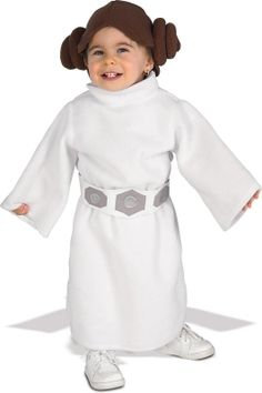 STAR WARS COSTUMES: : Star Wars Princess Leia Fleece Infant/Toddler Costume