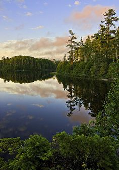 Boundary Waters Canoe Area in northern Minnesota. Though I've already been on a boundary waters trip, I would absolutely LOVE to do it again as an adult. It was by far the most challenging thing I've ever done but I'd do it again in a heartbeat!