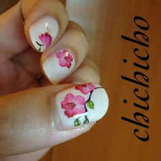 Video: Unknown Flowers Water Decal | chichicho~ nail art addicts