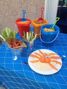 Sharks Summer Party Ideas | Photo 6 of 16 | Catch My Party
