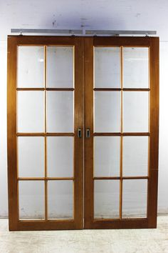This Colonial Sliding Door That Was Salvaged From A Carnegie Home Is Made Cedar Timber