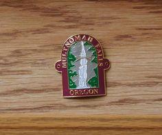 Image result for multnomah falls hiking stick medallion
