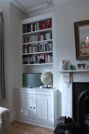 Fitted furniture for London - Fitted Wardrobes, Alcove Cupboards, Bespoke Bookcases, bookshelves and fitted bedroom furniture Alcove Storage, Alcove Shelving, Shelving Ideas, Bedroom Storage, Recessed Shelves, Mounted Shelves, Shelving Units, Storage Shelves, Storage Ideas