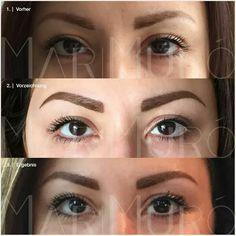 Augenbrauen - Härchenzeichnung Conture ® Make-up nach der LONG-TIME-LINER Methode