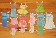 Pienet lapset(Little Children Paper Dolls) - PaperiCecilia - Picasa Webalbum