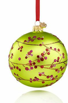Reed & Barton Christmas Ornament, Berry Branch Ball on shopstyle.com