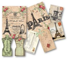 1000 images about eiffel tower on pinterest eiffel - Scrapbooking paris boutique ...