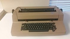 IBM Selectric II Correcting Typewriter. 88 Characters with white lettering. Dual pitch, either 10 or 12 spaces per inch with vertical 1.5 line spacing. Reliable, versatile, high print quality, and fast, (Speed more than 15 characters per second. One keystroke of mechanical storage.
