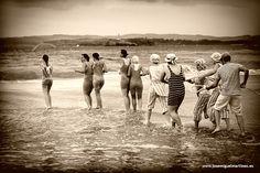 Baños de Ola, en julio en #Santander #Cantabria #Spain #Travel