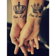 The crowns of the Kind and Queen a common expression of unity for a reason, it's symbolism is unmistakable - create a profile on talesofthetatt.com, show off your tattoo's and tell your stories. Or network with other tattoo enthusiasts without limitations or big brother bs!.