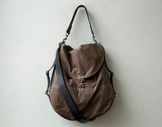 1903 ORIGINAL PACK - convertible backpack - waxed canvas cross body bag - backpack