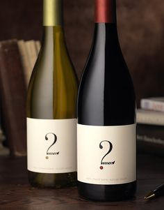 2 Think | Wine Label & Package Design by CF Napa Brand Design